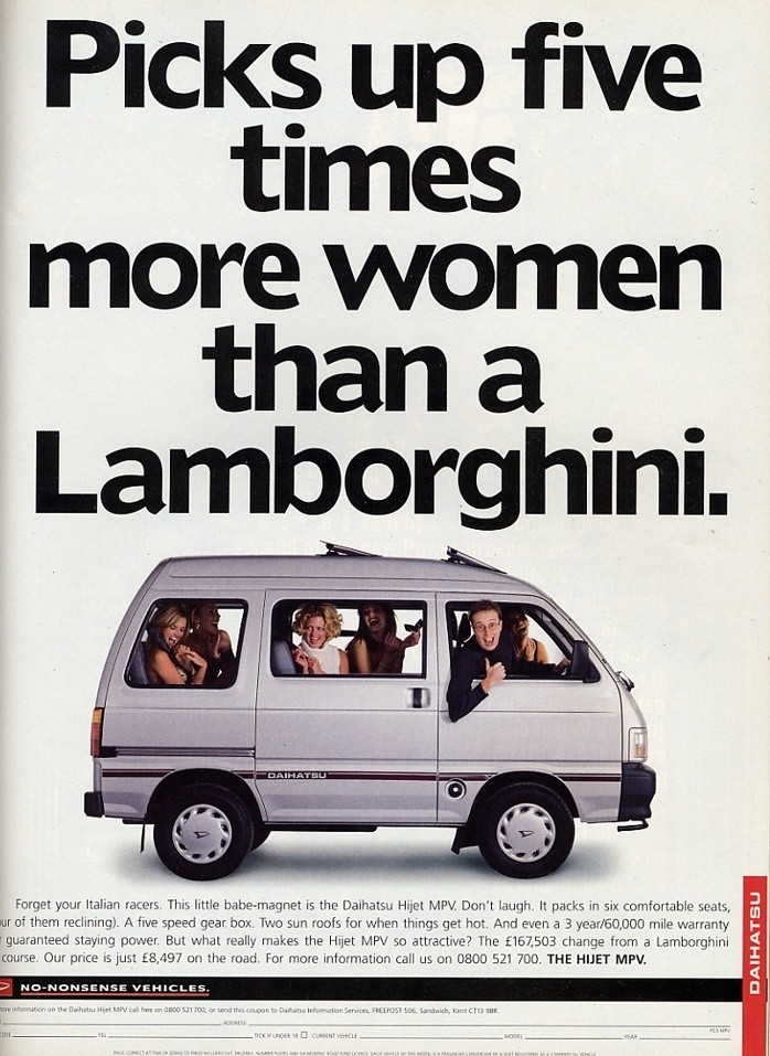 Brilliant old Daihatsu van advert