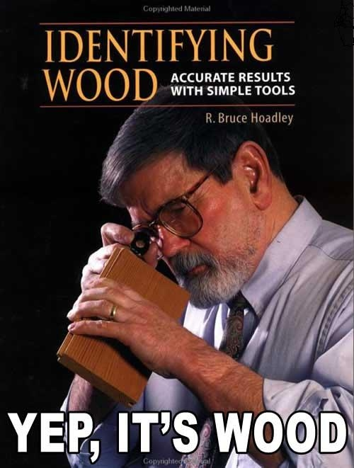 How to identify wood