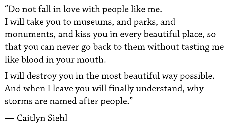 Caitlyn Siehl Quote